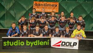 Equipe de floorball en maillots SPORTAMO
