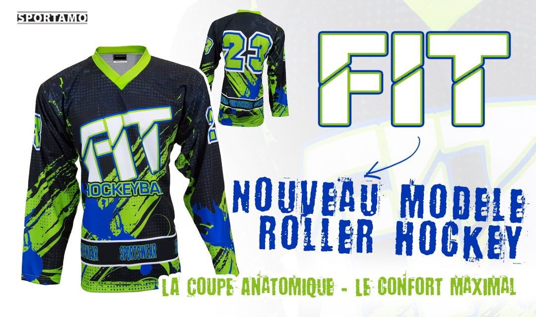 Maillot FIT roller hockey